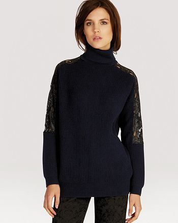 KAREN MILLEN - Sweater - Chunky Knit Lace Collection