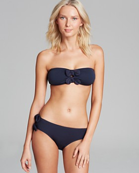 Juicy Couture Black Label - Bow Chic Bandeau Bikini Top & Bow Chic Classic Double Side Tie Bottom