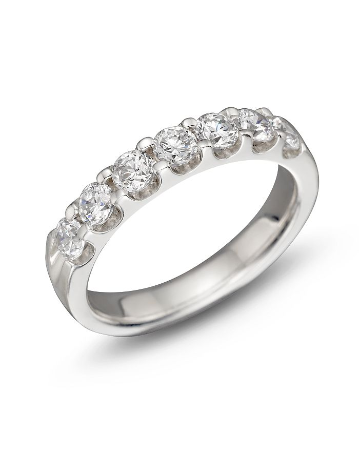 Bloomingdale's - Certified Diamond 7 Station Band in 18K White Gold, 1.0 ct. t.w. - 100% Exclusive
