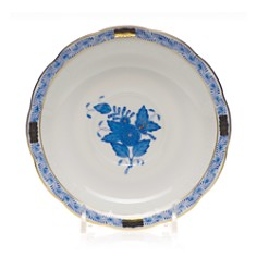 Herend Chinese Bouquet Blue Tea Saucer - Bloomingdale's_0
