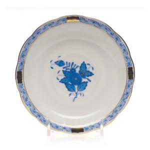 Herend Chinese Bouquet Blue Tea Saucer