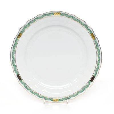 Chinese Bouquet Salad Plate, Garland Green