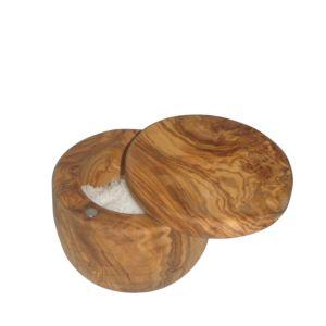 Berard Olive Wood Salt Keeper