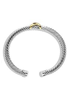 David Yurman - X Bracelet with Gold