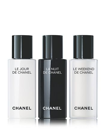 CHANEL - RE SYNCHRONIZING SKINCARE Trio Discovery Set