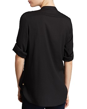 Calvin Klein - Zip Pocket Roll Sleeve Shirt