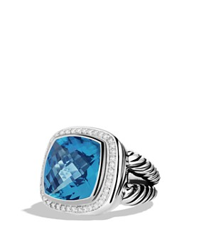 David Yurman - Albion Ring with Gemstone and Diamonds
