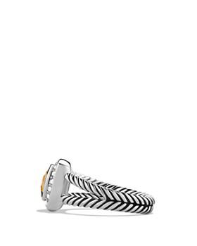 David Yurman - Petite Albion Ring with Citrine & Diamonds