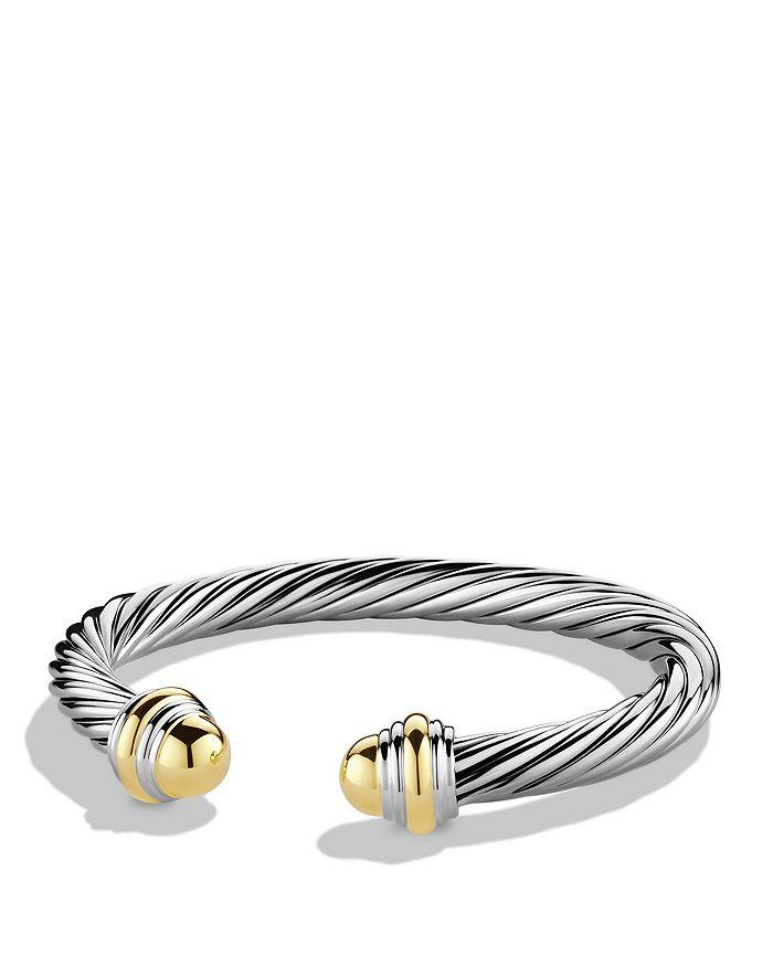 David Yurman - Cable Classics Bracelet with Gold