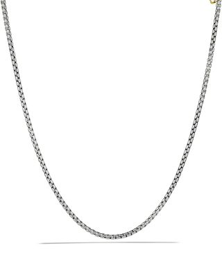 Medium Box Chain with Gold, 72""