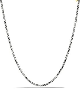 David Yurman - Medium Box Chain with Gold