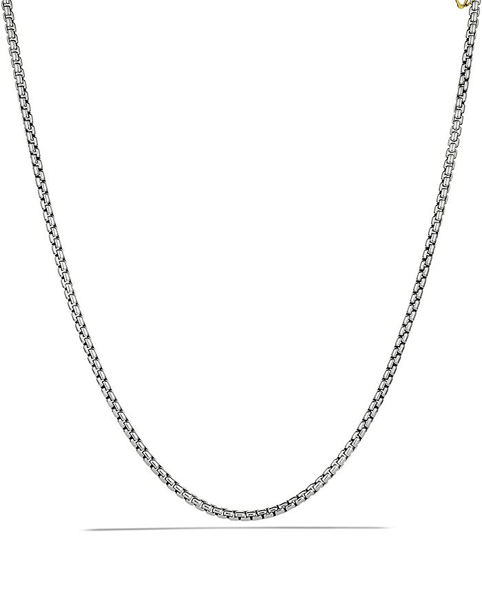 David Yurman - Medium Box Chain with Gold, 72""