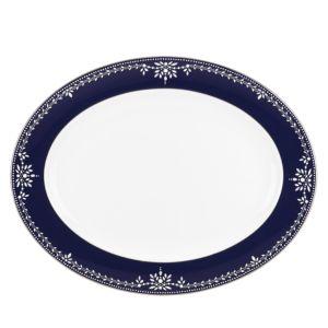 Marchesa by Lenox Empire Pearl Platter, 16