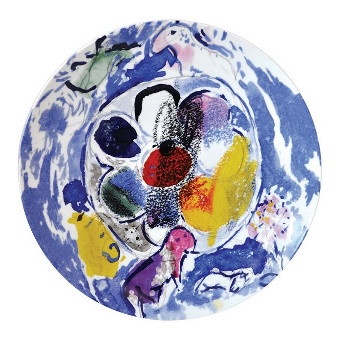 Bernardaud - Bernardaud Marc Chagall Coupe Plate, Set of 6