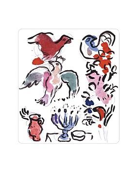 Bernardaud - Bernardaud Marc Chagall Asher Tribe Rectangular Tray