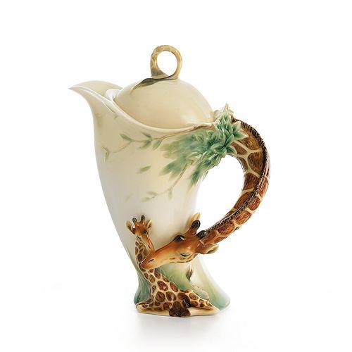 Franz Collection - Endless Beauty Giraffe Teapot