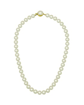 """Majorica - Simulated Pearl Necklace, 16"""""""