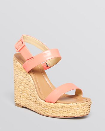 kate spade new york - Open Toe Platform Wedge Sandals - Dancer