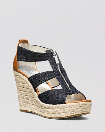 d538edd7b1c3 MICHAEL Michael Kors - Platform Wedge Sandals - Damita