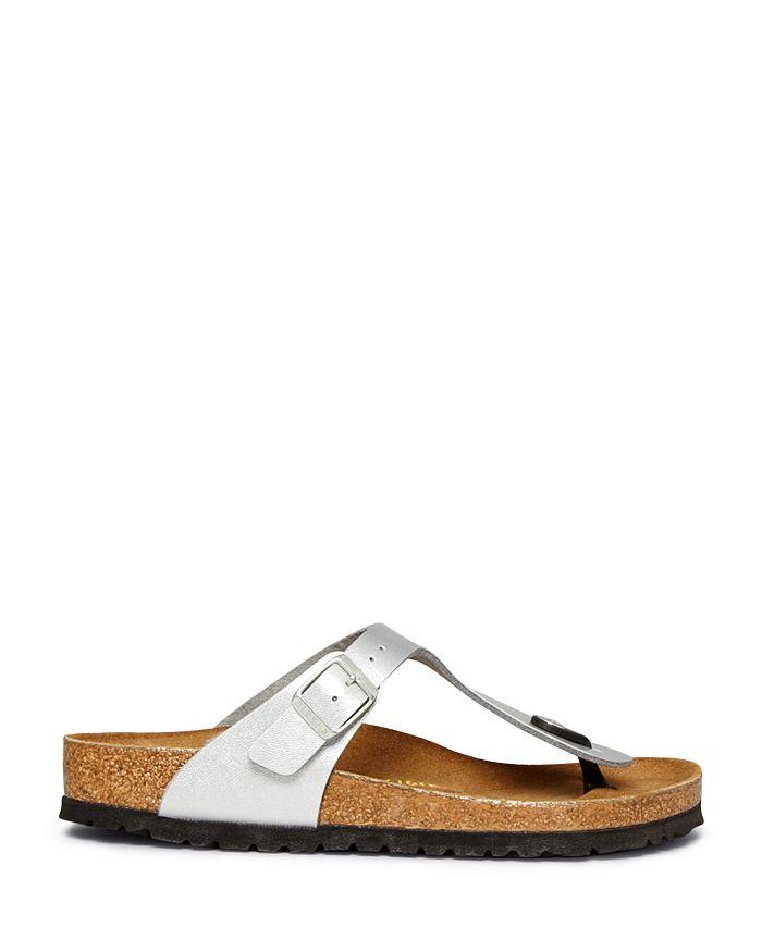 d0bb6756aebf Birkenstock - Women s Flat Thong Sandals - Gizeh