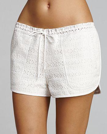 Tory Burch - Encintas Cover-Up Shorts