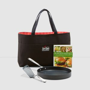 All Clad Nonstick 12 Grill Pan & Accessory Set 996690