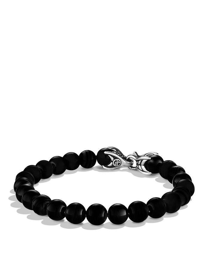 David Yurman - Spiritual Beads Bracelet with Black Onyx, 8mm
