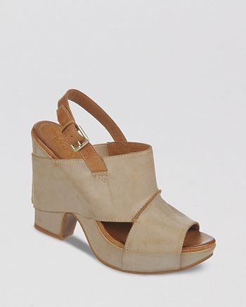 Naya - Monroe Sling Clog High-Heel Platform Sandals
