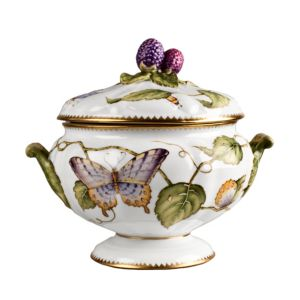 Anna Weatherley Butterfly Covered Serving Dish