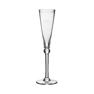Simon Pearce Engraved Hartland Champagne Flute - Mr.