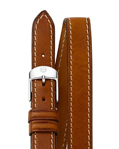 MICHELE Double Wrap Leather Watch Strap, 18mm - Bloomingdale's_0