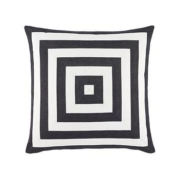 """Ralph Lauren - Kirin Stripe Decorative Pillow, 22"""" x 22"""""""