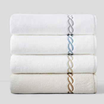 "Matouk - ""Classic Chain"" Bath Towel"