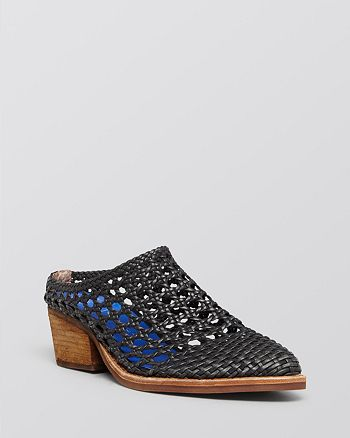 new product be70d d280e Jeffrey Campbell Mules - Armadillo Woven Slide | Bloomingdale's