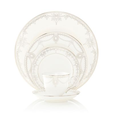 Marchesa by Lenox. Empire Pearl Dinnerware  sc 1 st  Bloomingdaleu0027s & Marchesa by Lenox Empire Pearl Dinnerware | Bloomingdaleu0027s