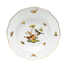 Herend - Rothschild Bird Rimmed Soup Bowl, Motif #5