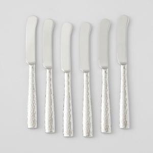 Ricci Argentieri Anvil 6-Piece Pate Knife Set