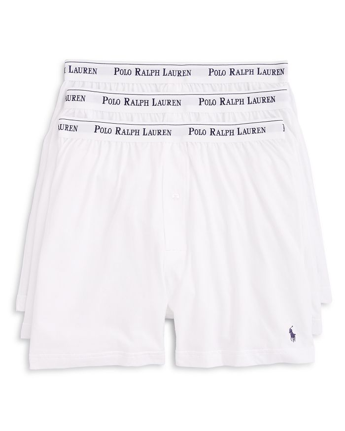 f1f7c1ce7e1adf Polo Ralph Lauren Knit Boxers, Pack of 3 | Bloomingdale's