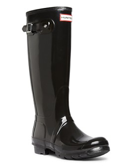 Hunter - Women's Womens' Original Tall Gloss Rain Boots