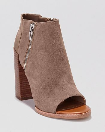 DV Dolce Vita - Open Toe Booties - Mercy High-Heel