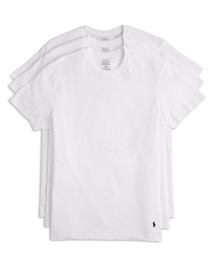 d7b8990fb Polo Ralph Lauren Men's 3-Pack Cotton Crew Tees | Bloomingdale's