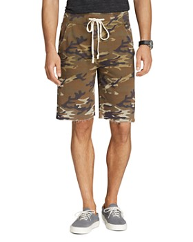 ALTERNATIVE - Victory Camouflage-Print Fleece Shorts