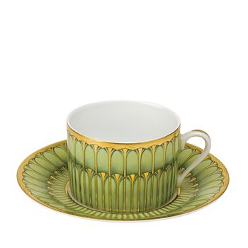 Philippe Deshoulieres - Arcades Green Teacup
