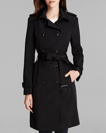 Calvin Klein - Trench Coat - Double Breasted Belted