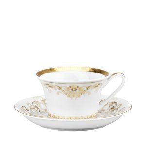 Rosenthal Meets Versace Medusa Gala Tea Saucer