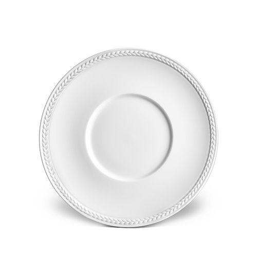 L'Objet - Soie Tressée White Saucer