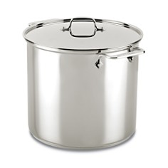 All-Clad - Stainless Steel 16-Quart Stock Pot