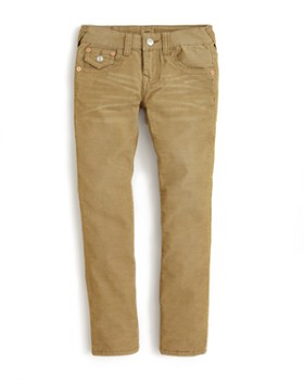 True Religion - Boys' Geno Slim Fit Corduroy Pants - Big Kid