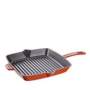 Staub American Square Grill Pan, 10 x 10