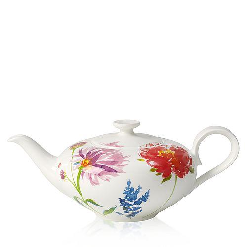 Villeroy & Boch - Anmut Flowers Teapot